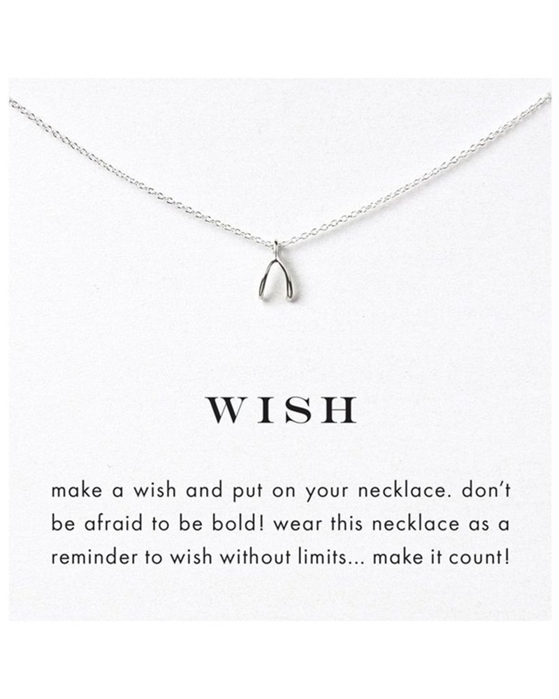 Dogeared Wish Necklace