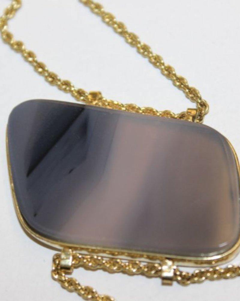 verdigris Agate Bracelet