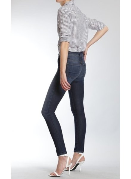 Mavi Jeans Allisa super skinny in dark brushed indigo gold