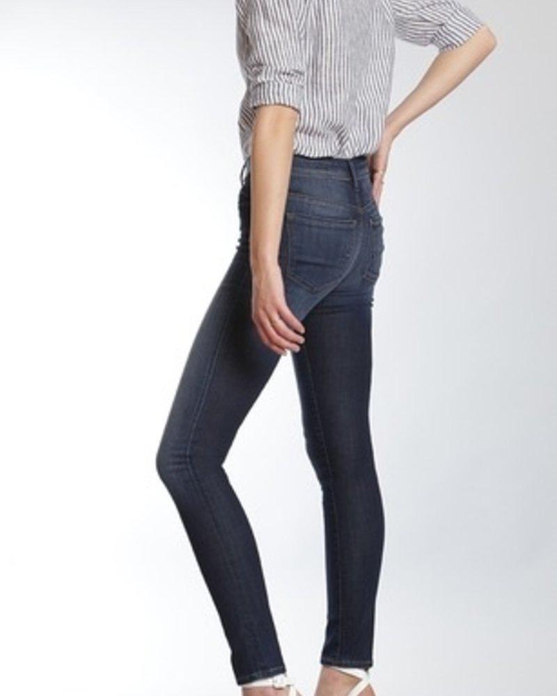 Mavi Jeans Allisa super skinny in dark brushed indigo gold