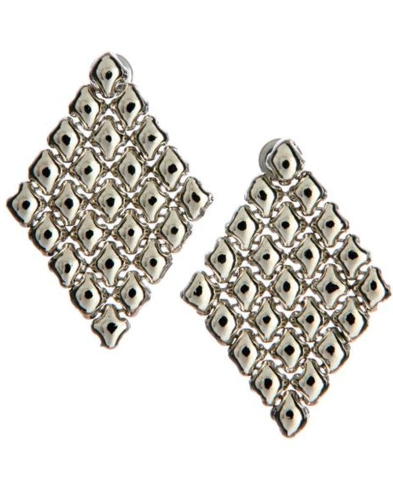 Liquid Metal Liquid meta E17 earrings