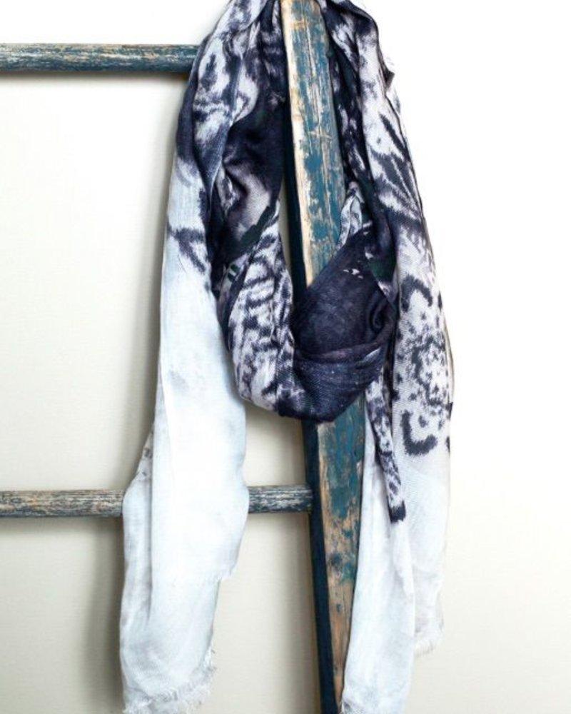 verdigris Cashmere scarf