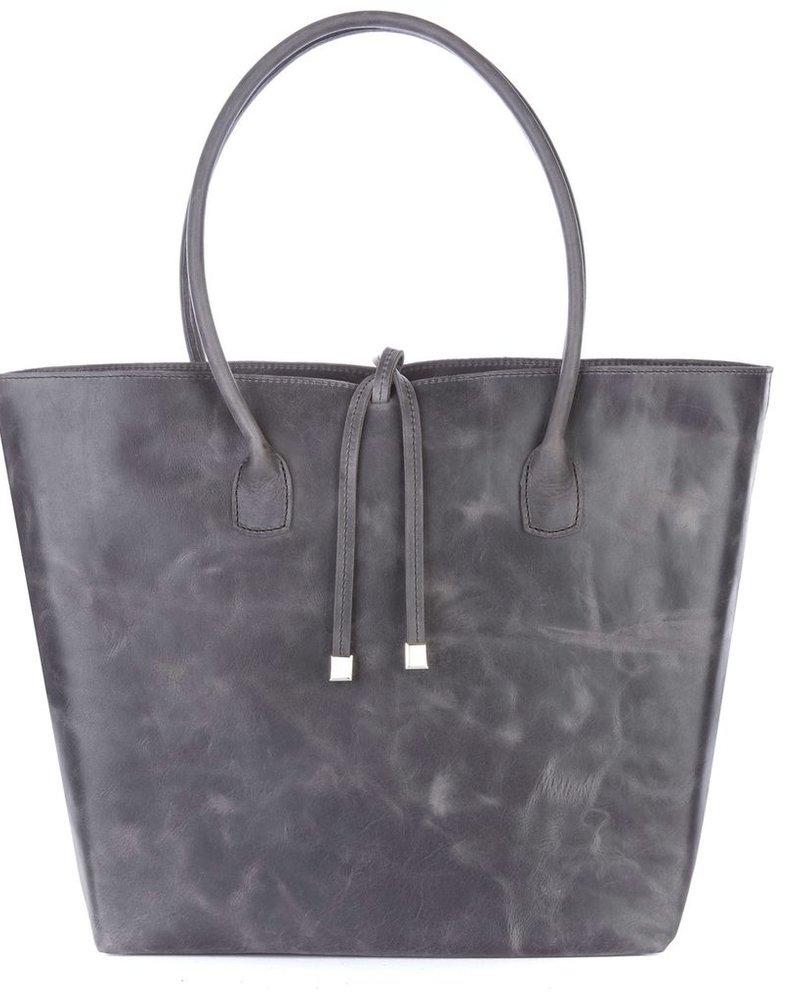 verdigris Catriona leather bag