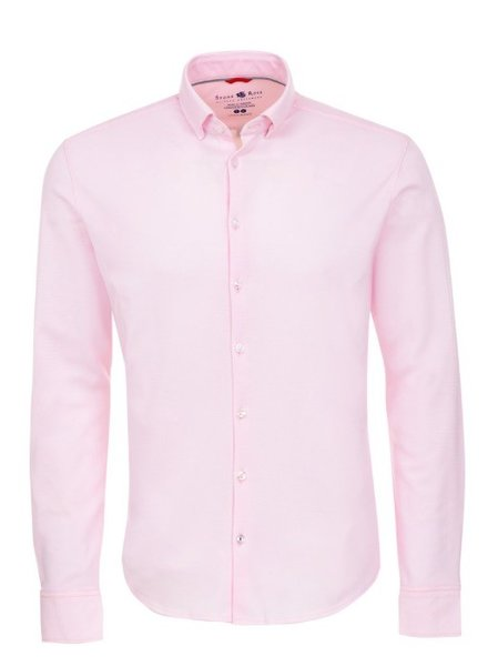 Stone Rose Textured Knit Long Sleeve Shirt