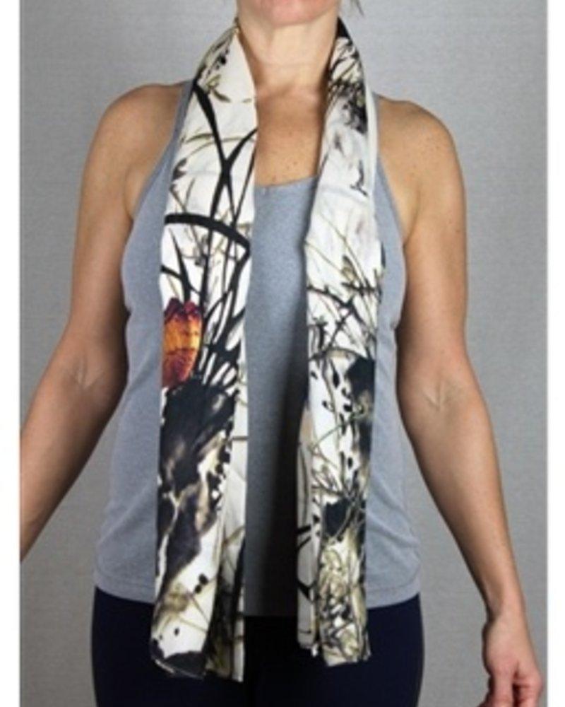 verdigris Butterflys Cape/scarf