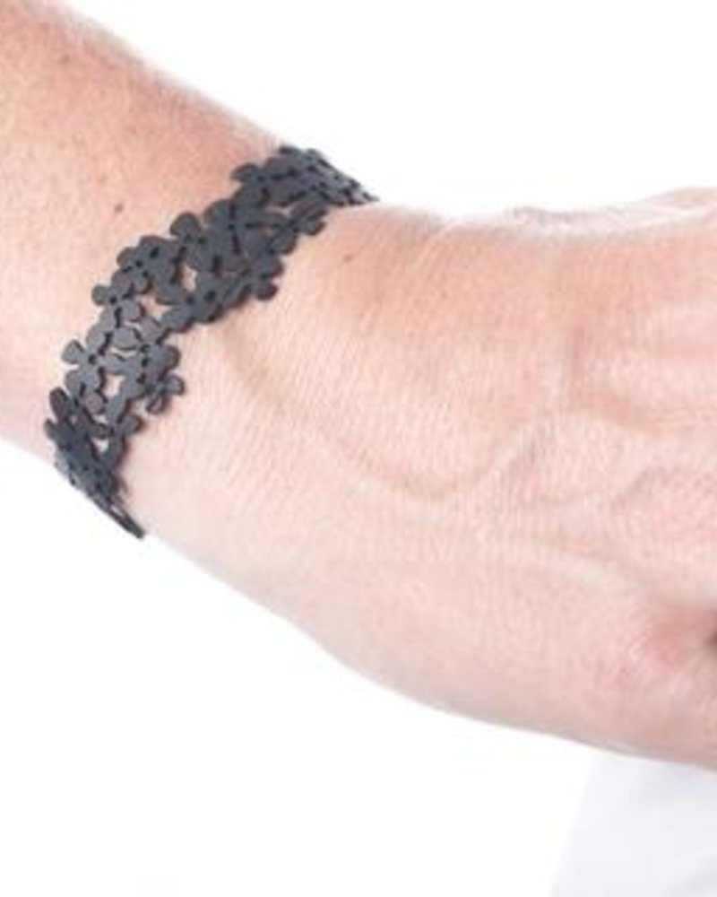 verdigris small cluster flower bracelet & anklet