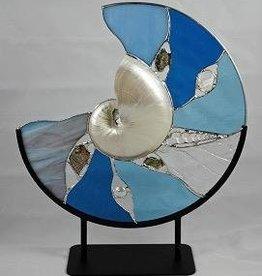"Rare Earth Gallery Nature's Glory (Aqua, 14"")"