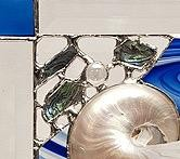 """Rare Earth Gallery Nature's Glory Panel (Cobalt w/Stand, 10"""")"""