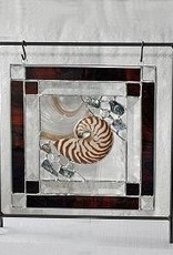 "Rare Earth Gallery Nature's Glory Panel (Brown w/Stand, 10"")"