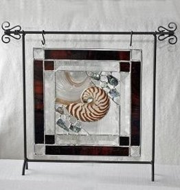 """Rare Earth Gallery Nature's Glory Panel (Brown w/Stand, 10"""")"""