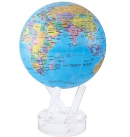 "Rare Earth Gallery Political Map Blue (MOVA GLOBE 6"")"