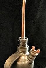Tom Bieber Steampunk Industrial Oil Can (Ceramic, Brown Glaze)