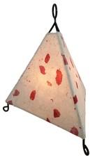 Rare Earth Gallery Lamp, Mini Paper Pyramid