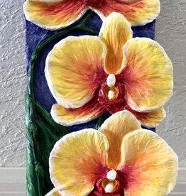 Carol Merritt Forever Blooms I & II (Original Acrylic, Signed, 4x12)