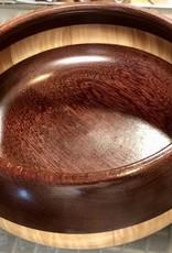 "David L. Jones Bowl (Maple & Purple Heart,10.5""D. x 4""H)"
