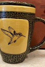 Rare Earth Gallery Hummingbird Mug w/Lid