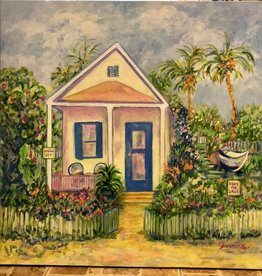 "Jane Miller Mango Lane (Original Acrylic, Signed, 36x36"")"