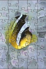 Rare Earth Gallery Chocolate Clownfish (Teaser, 49 Pieces, Artisanal Wooden Jigsaw Puzzle)