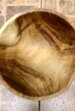"Loren Wolfe Bowl, Acacia (10.75""D x 3.75""H) (#319)"