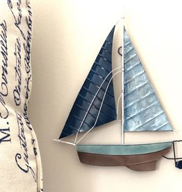 Rare Earth Gallery Sailboat (Wall Decor, Asst. Colors)