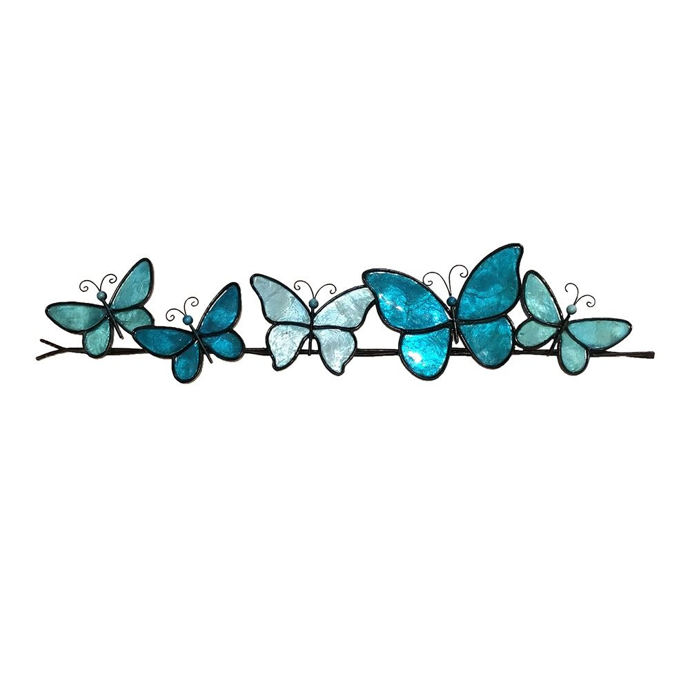 Rare Earth Gallery Butterflies on a Wire (Wall Decor, Asst. Colors)