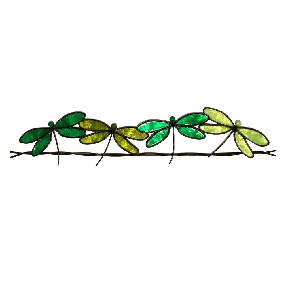Rare Earth Gallery Dragonflies on a Wire (Wall Decor, Asst. Colors)