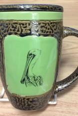 Rare Earth Gallery PELICAN (Mug w/Lid)