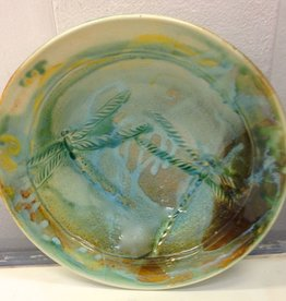 Gail Snively Bowl, Carved (Sm, #120S)