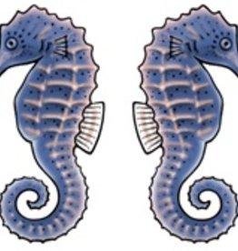 Rare Earth Gallery SEA HORSE (BLUE, EARRINGS)