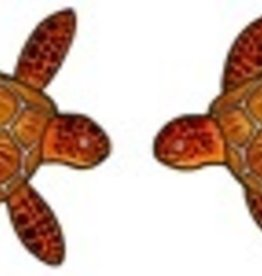 Rare Earth Gallery SEA TURTLE (EARRINGS)