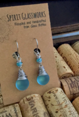 Rare Earth Gallery EARRINGS (Recycled Glass Bottles)