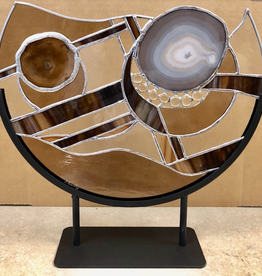"""Rare Earth Gallery Nature's Brillance (Brown, 14"""")"""