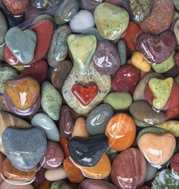 Rare Earth Gallery Found Love (Sm, 125 Pieces, Artisanal Wooden Jigsaw Puzzle)