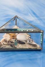 "Rare Earth Gallery Beach Kaleidoscopes (5""x2""Triangle)"