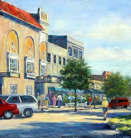 Ruthann Hewson Afternoon Along Flagler (Print, Matted, 11x14)