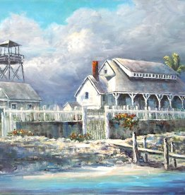 Ruthann Hewson Refuge From the Storm I (Print, Matted, 11x14)