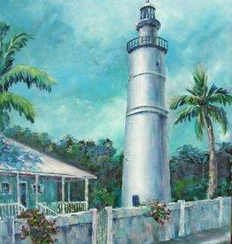 Ruthann Hewson Key West Light (Print, Matted, 11x14)
