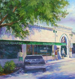 Ruthann Hewson Osceola St. (Nature's Way Cafe, Print, Matted, 11x14)