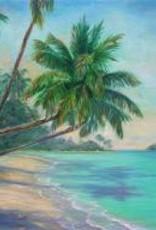 Ruthann Hewson Sailing the Caribbean (Print, Matted,11x14)