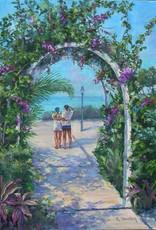 Ruthann Hewson Tropical Retreat (Print, Matted, 11x14)