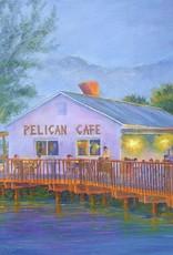 Ruthann Hewson Pelican Cafe (Print, Matted, 11x14)