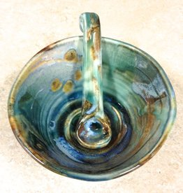 Gail Snively Bowl (Sauce w/Spoon, #377)