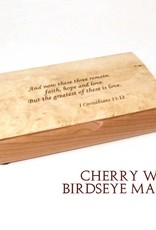 Rare Earth Gallery POSSIBILITY BOX (Wood w/Engraved Quote)