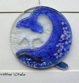 "Rare Earth Gallery WHALE (4""D. Suncatcher)"