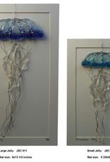 "Rare Earth Gallery JELLYFISH (Sm, 3""x9"" Suncatcher)"