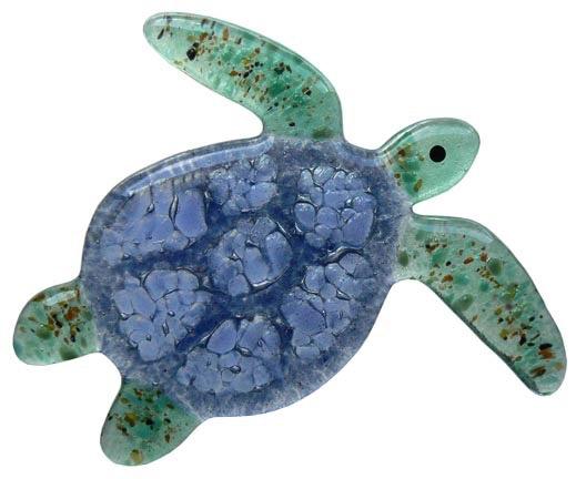 "Rare Earth Gallery SEA TURTLE (4""x5"" Suncatcher)"