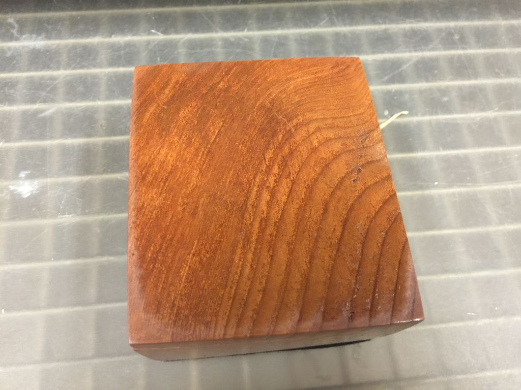 Don Snyder Jewelry Box (Wood, 01 DWR Square Slider, REDWOOD, #543)