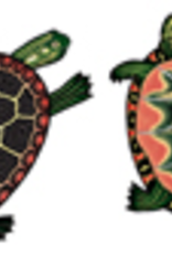 Rare Earth Gallery SEA TURTLE (PAINTED, EARRINGS)