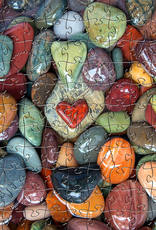 Rare Earth Gallery Found Love (Teaser, 49 Pieces, Artisanal Wooden Jigsaw Puzzle)