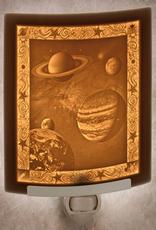 Rare Earth Gallery CELESTIAL BODIES (Lithophane Nightlight)